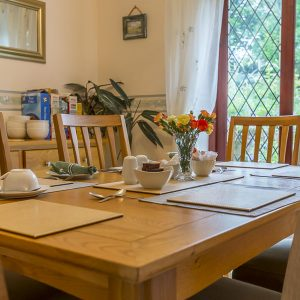 Dining Room at Meadowview Bed and Breakfast Bude